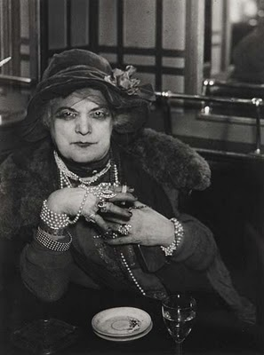 Madame Bijou had once lived a rich life but now survived on charity as a psuedo-palm reader and a bit of a con woman in the bars of Montmartre, Paris in the 1930s.