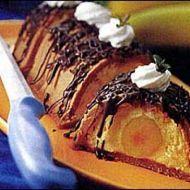 Fotografie receptu: Zmrzlinový tunel s banánem
