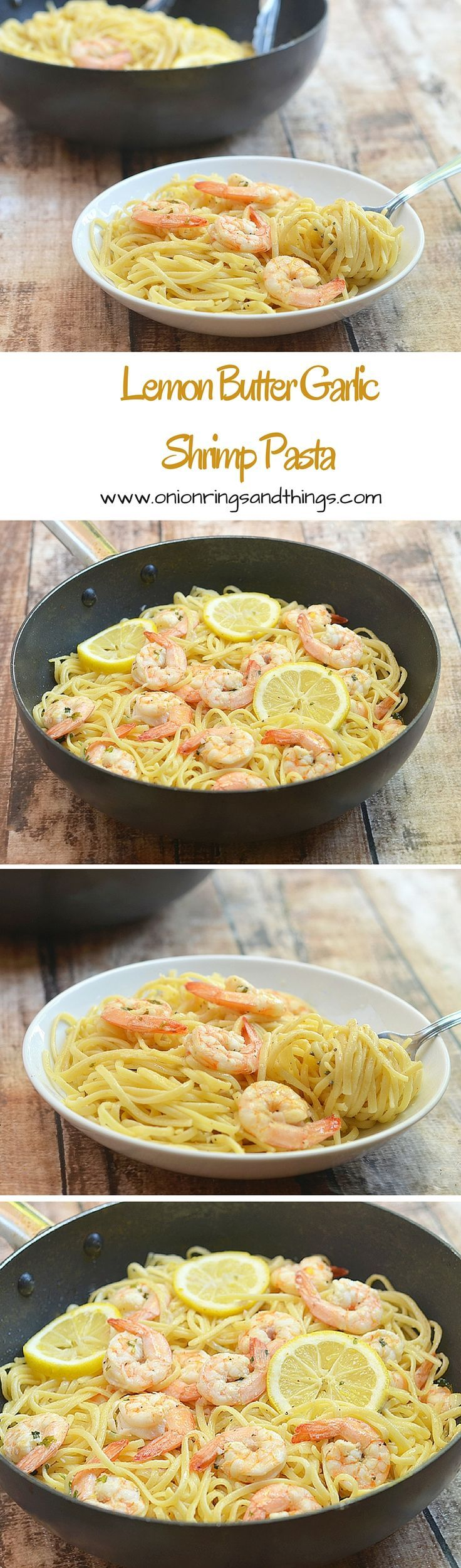 With silky linguine noodles and plump shrimps drenched in buttery, garlicky and lemony flavors, this lemon butter garlic shrimp pasta make a refreshing yet satisfying meal