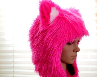Popular items for funky hat on Etsy Faux Fur Hats www.furfrenzy.com #fashionstatement #fauxfur #trendy #warm #style