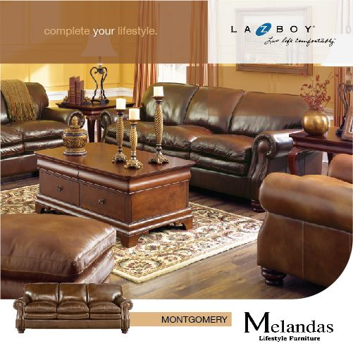 """The """"Montgomery"""" sofa is the perfect spot for family game nights,movie nights, or morning coffee."""