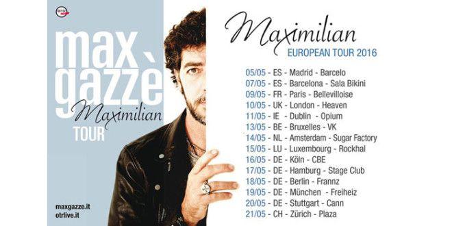 Max Gazzè è già tempo d'estate per il 'Maximilian Tour'
