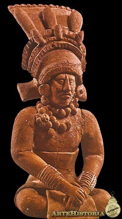 Cacique sentado. Cultura Maya (Jaina, México) Autor: Fecha: 600-800 Museo: Museo Nacional de Antropología de México