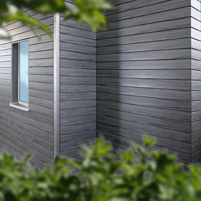 Kaufe Wpc Rhombus Fassade Die Gestaltende Xl Graphitgrau 4m Von Naturinform Rhombus Fassade Fassade Wpc Fassade