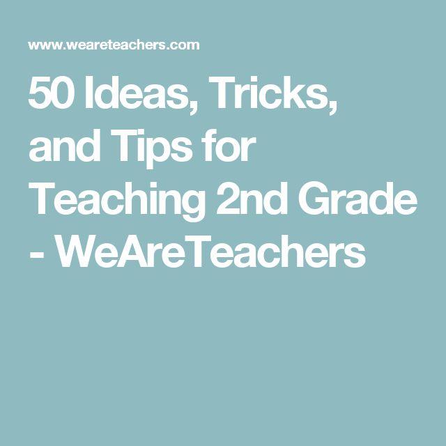 50 Ideas, Tricks, and Tips for Teaching 2nd Grade - WeAreTeachers