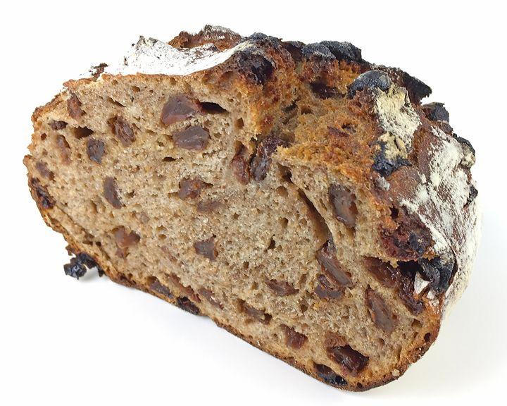 This Sourdough Cinnamon Raisin Loaf combines the fragrant coziness of cinnamon raisin bread with the health benefits of whole-grain heirloom wheat flour and sourdough leavening.