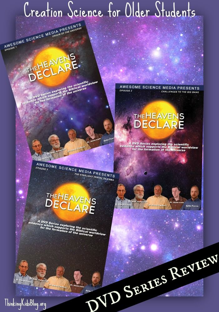 Check out this new young universe Creationist DVD series: The Heavens Declare (episodes 1-3 of 13)