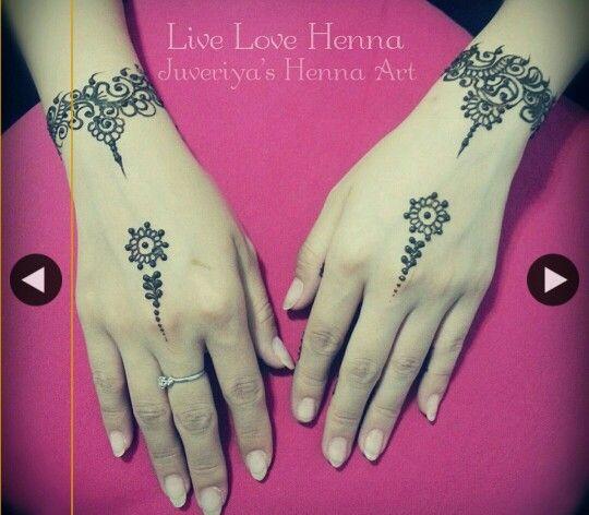 Beautiful, simple henna.