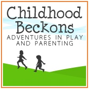 www.childhoodbeckons.com - Adventures In Play And Parenting. A hodgepodge of activities and crafts to help you connect with your children.