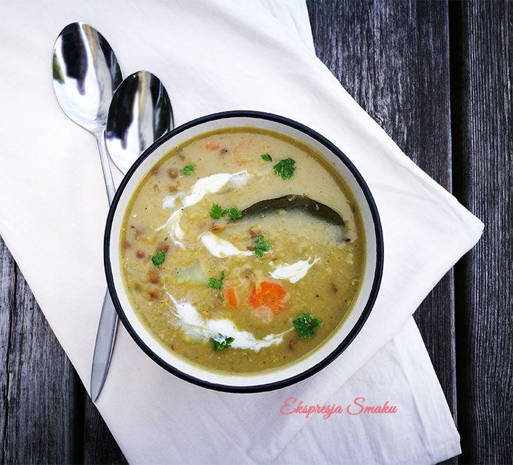 Zupa z soczewicy z mleczkiem kokosowym