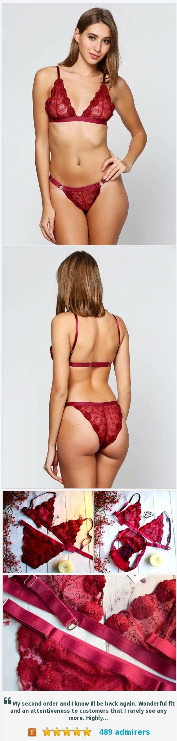 #Redlingerie #Lingeriesheer #Sheernudemesh #Eroticlingerie #OlaNoche https://www.etsy.com/OlaNoche/listing/559399235/valentines-lingerie-sheer-nude-mesh?ref=shop_home_active_2