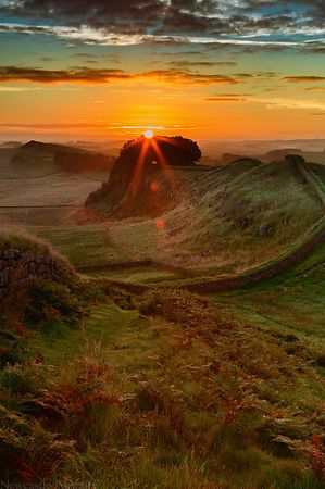 Hadrians Wall Sunrise (2)