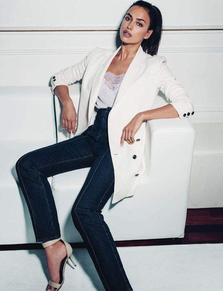 Irina Shayk by Juan Aldabaldetrecu for Elle Spain October 2016