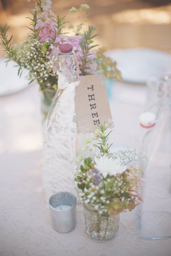233 best table numbers images on pinterest wedding table numbers rustic style wedding centerpiece junglespirit Image collections