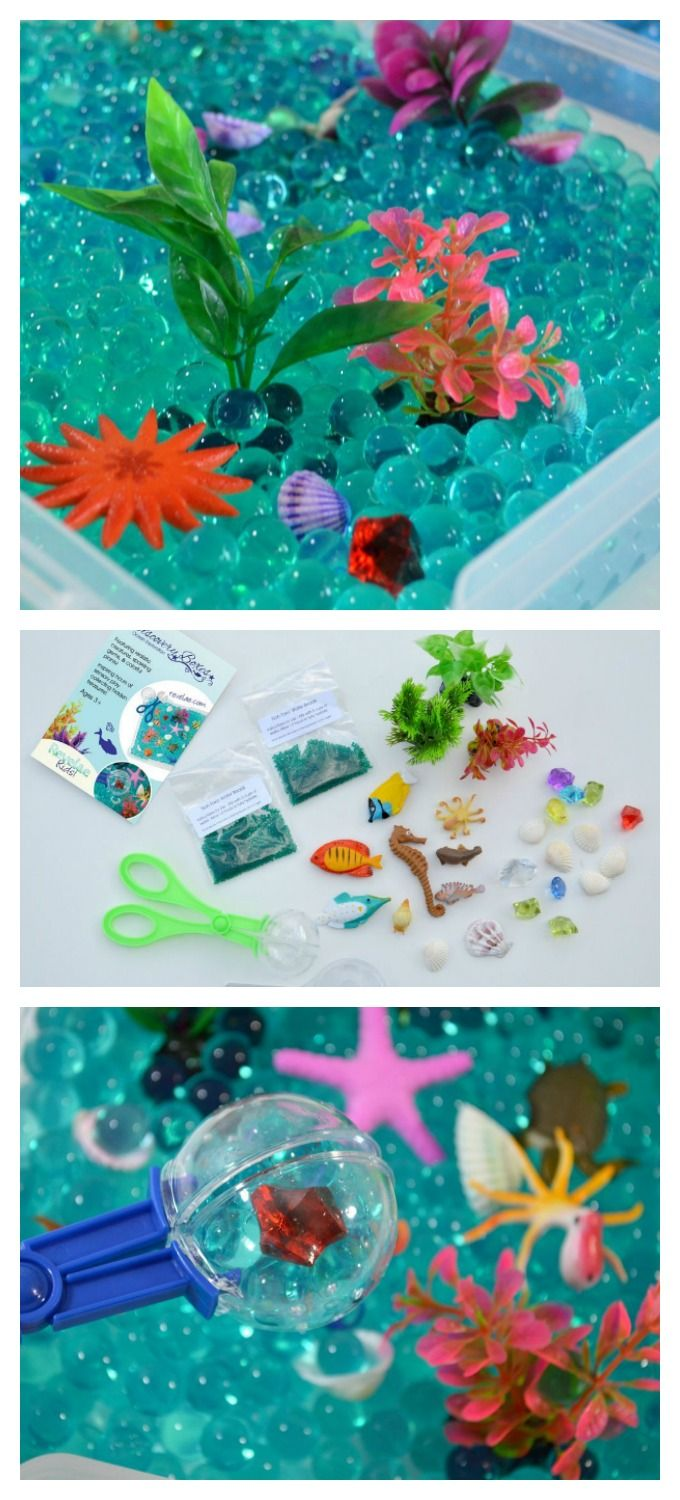 Ocean Exploration Discovery Kit for Sensory Play (affiliate)