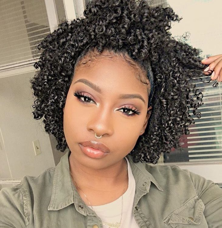 Tremendous 1000 Ideas About Black Curly Hairstyles On Pinterest Curly Hairstyles For Women Draintrainus