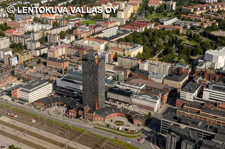 Solo Sokos Hotel Torni, Tampere Ilmakuva: Lentokuva Vallas Oy
