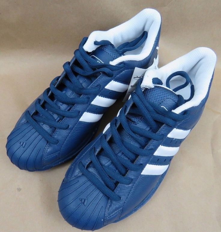 ADIDAS Superstar 2G Men's Basketball Shoes RARE BLUE 669164 NIB NEW Size 8 #adidas
