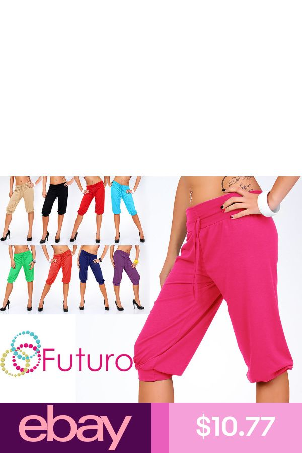 Harlem Pants Gym Trousers Stretch Activewear Summer Colors Size 8-12 FK1171