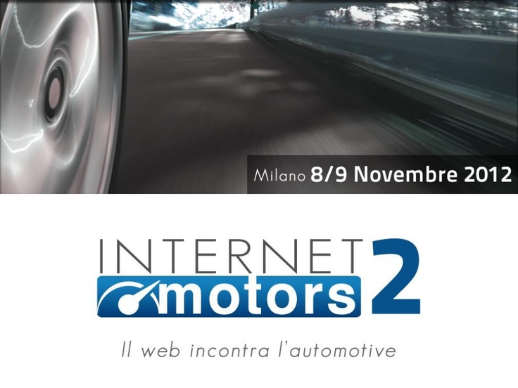 I brand automotive sui social media: Vincenzo Cosenza all'Internet Motors 2012 by Me-Source S.r.l./Blogmeter via Slideshare