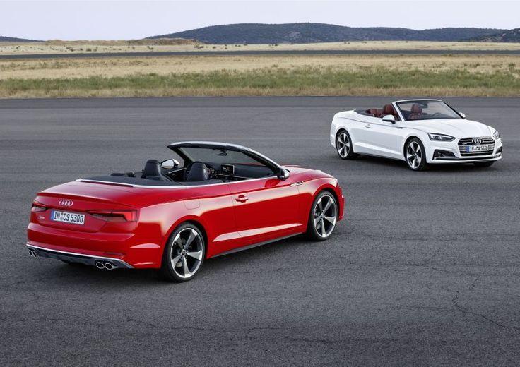 Audi A5 Cabriolet (9T) - Geneva Motor Show debut of audi