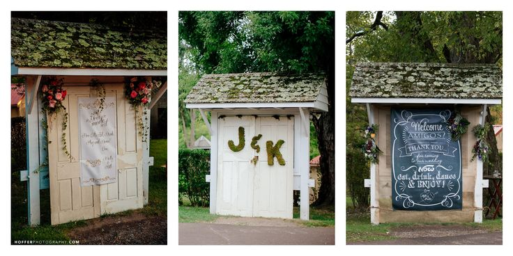 What's your favorite flavor?  Check out these creative, customized kiosk designs to welcome your guests on your special day at Audubon!  Images courtesy of: Hoffer Photography, Lavender Leigh Photography and Reiner Photography.