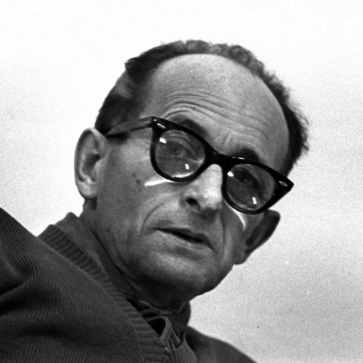 the history place adolf eichmann On may 9, gina haspel, donald trump's choice for head of the central intelligence agency, testified at her senate confirmation hearing in washington, dc.