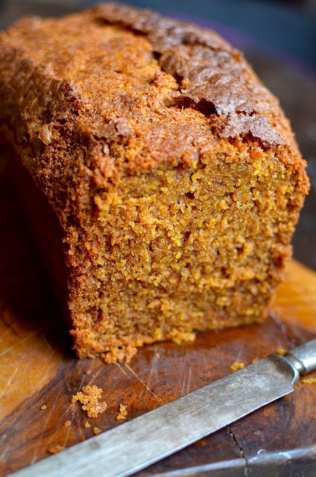 Yammie's Glutenfreedom: Grandma's Famous Gluten Free Pumpkin Bread
