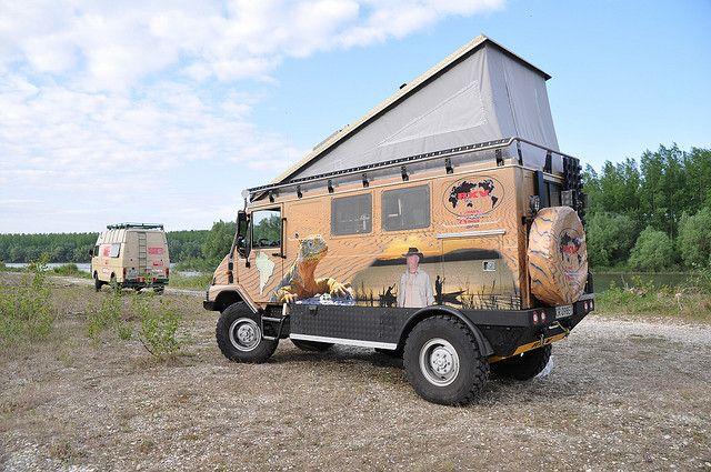 bremach 4x4 off road camper van by bremach via flickr. Black Bedroom Furniture Sets. Home Design Ideas