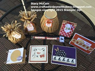 Craftastic Days with Stacy:  Stampin' Up! Paper Pumpkin September 2015 Wickedly Sweet Treat kit - collection