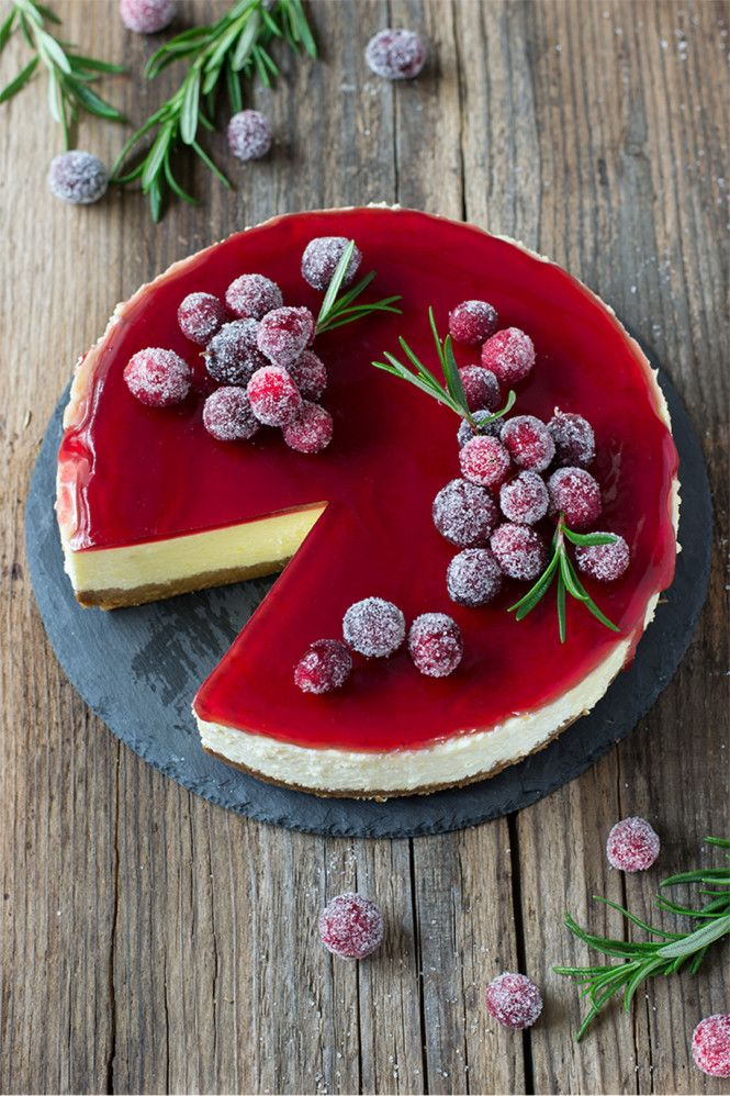 Glühwein-Cheesecake © Monsieurmuffin