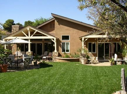 Best 25 ranch house additions ideas on pinterest ranch for Back porch ranch