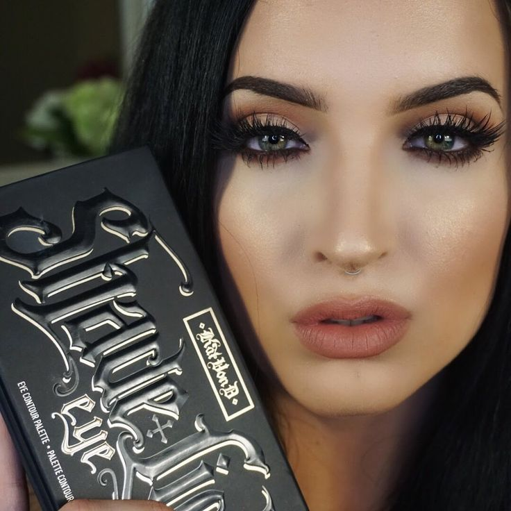 Kat Von D Shade + Light Eye Contour Palette Tutorial