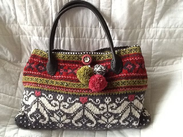 Ravelry: ruthhainsworth's Norway cruise handbag