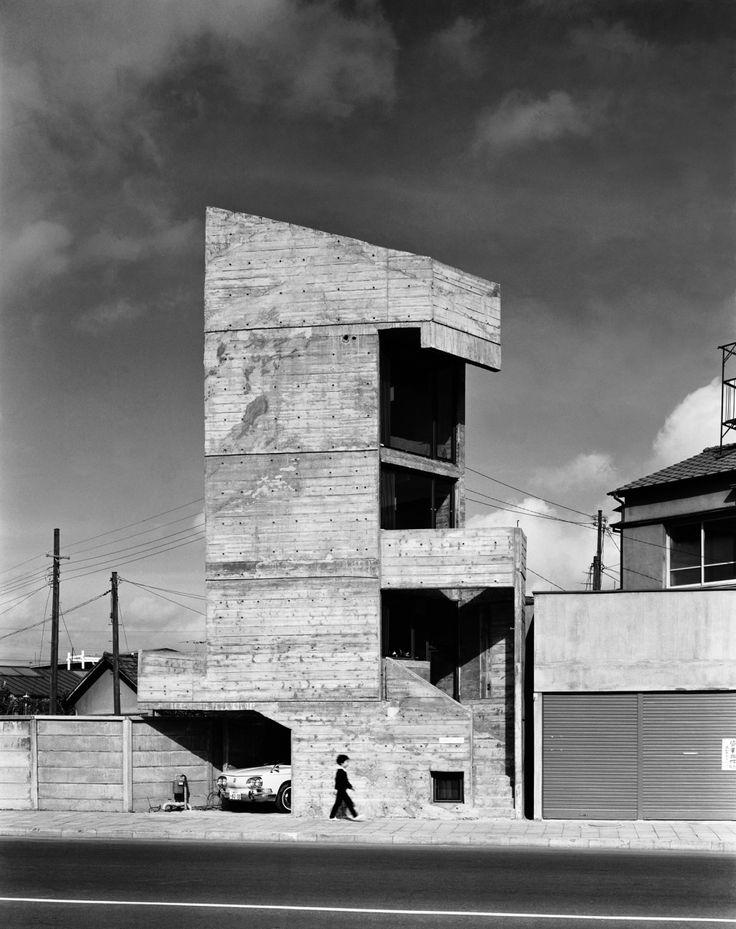 """『塔の家』 (1966年 設計 東孝光)""""Tower House"""" Azuma Takamitsu"""