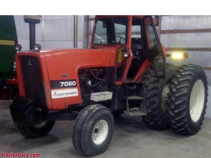 Allis Chalmers 7060 | Allis Chamers | Pinterest | Tractor ...