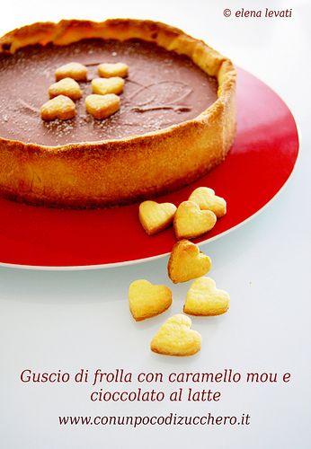 Frolla caramello mou e cioccolato al latte