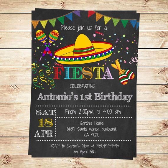 Best 25+ Fiesta invitations ideas on Pinterest Mexican fiesta - free 18th birthday invitation templates