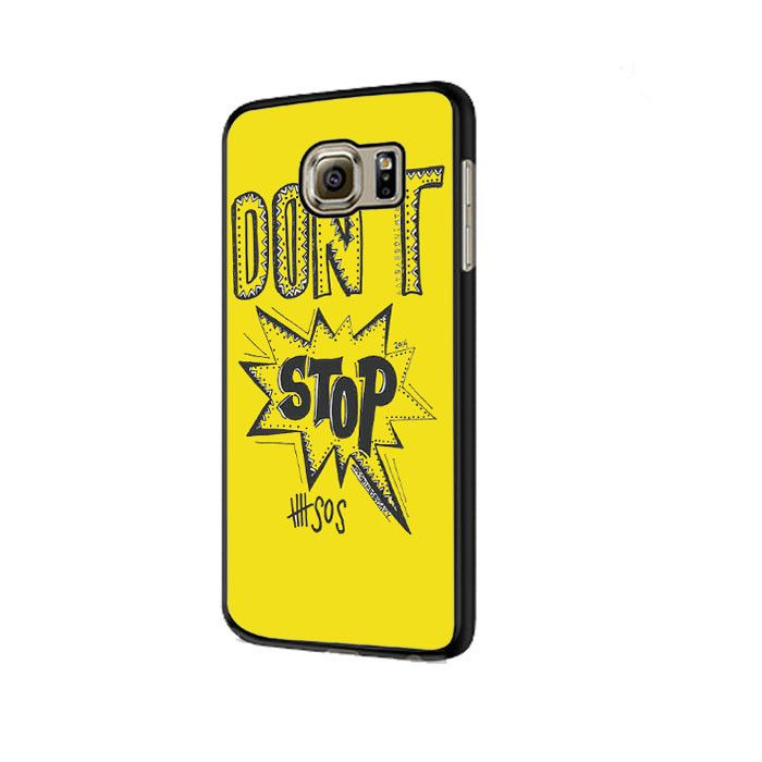 5 seconds of summer 5 sos Design Samsung Galaxy S6 | S6 Edge Cover Cases