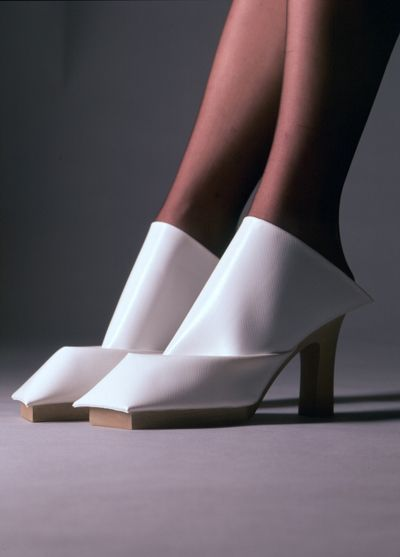 Some of the most crazyest shoes I have ever spotted... Marloes - COUTURE SHOES By http://marloestenbhomer.squarespace.com/couture-shoes