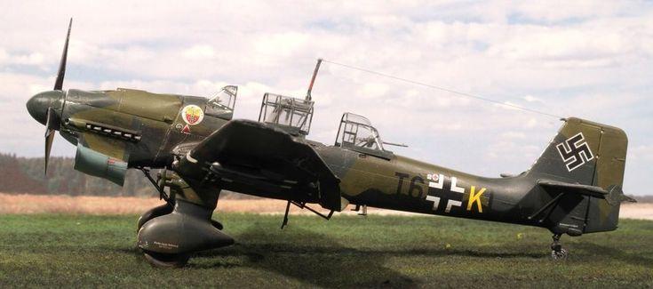 Italeri Junkers 87 B-2 Stuka | iModeler