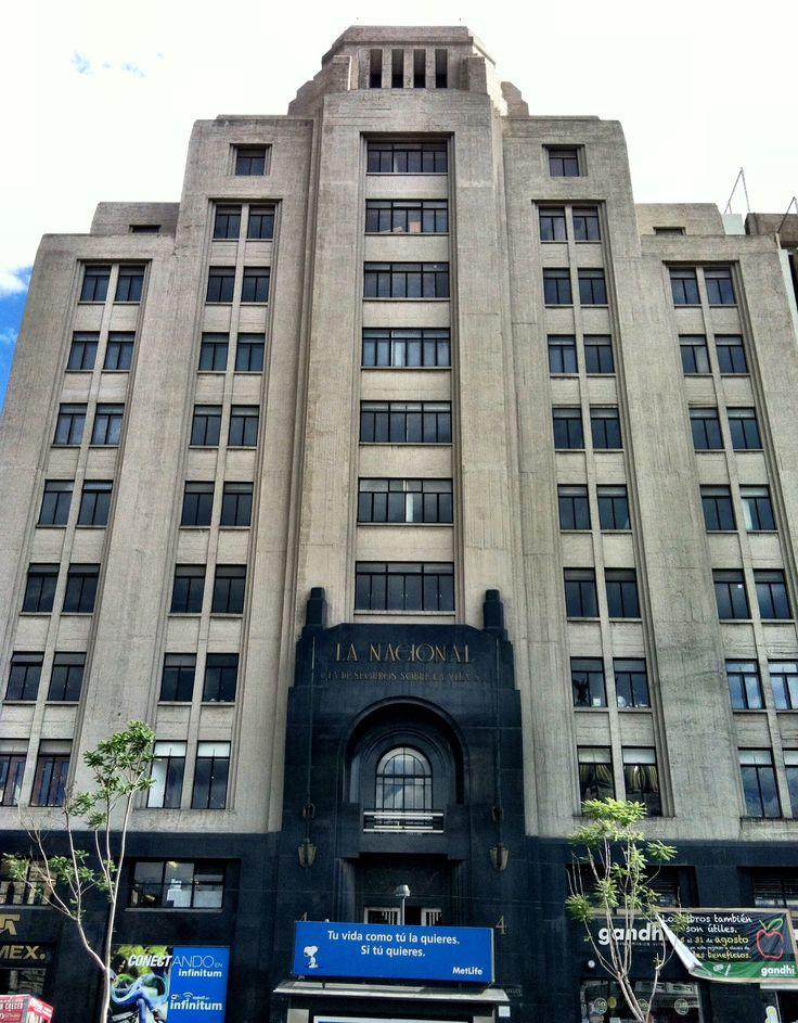 Edificio la nacional hoy oficinas de telmex m xico d f for Puerta 6 aeropuerto ciudad mexico