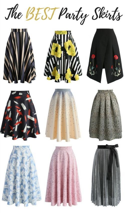 EXTRA 25%OFF!!! BLACK FRIDAY SUPER SALE! Up to 80% OFF! Discover more party skirts at Chicwish.com