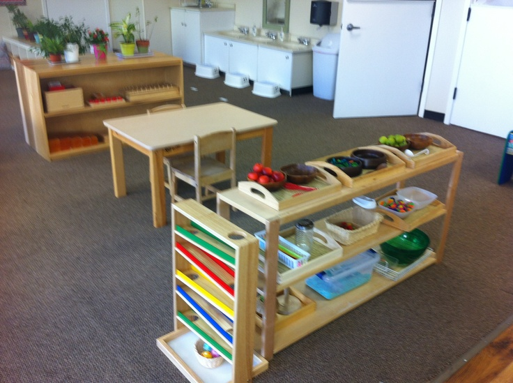 Montessori Toddler Shelves  1000 images about Montessori Infant and Toddler  Classrooms on. Montessori For Toddlers