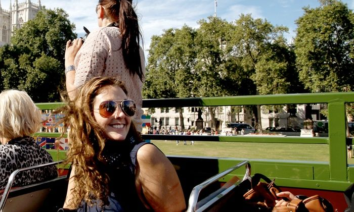 Premium Tours - London: Double Decker London Bus Tour and Thames Cruise: Child (£15), Adult (£20) or Family (£70) Tickets (Up to 50% Off)