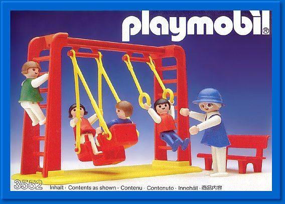 PLAYMOBIL® set #3552 - Children and Swings