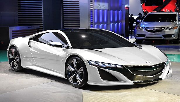 This is the new 2015 Acura NSX  They want $155,00 brand new drive away  Here is a link for more info http://www.caranddriver.com/acura/nsx