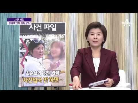 '비선 의혹' 최순실, 강남서 카페 운영 정황 포착
