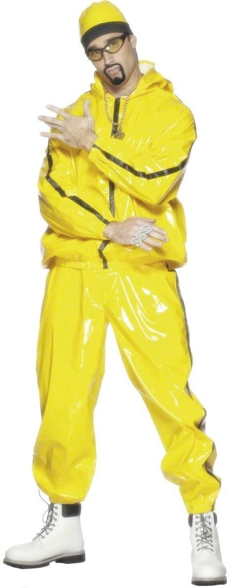 Rapper Suit Fancy Dress Costume Mens (Film)