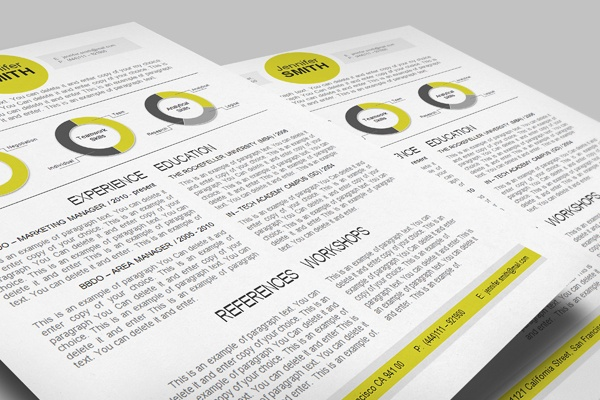 CV Template / cvspecial.com